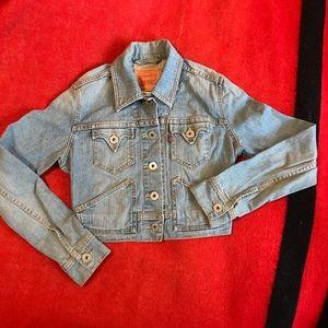 Levi's jacket young girl